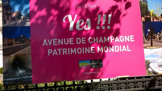 Epernay, Γαλλία: Ναί!
