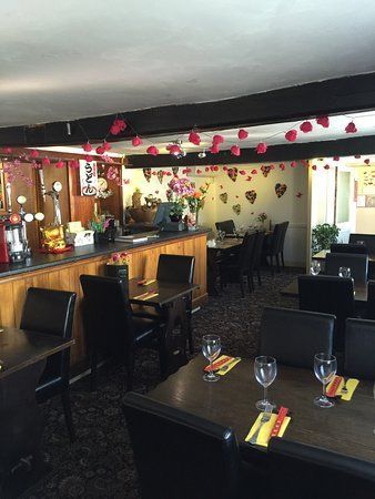 Melksham, UK : The Unicorn Bar and Restaurant