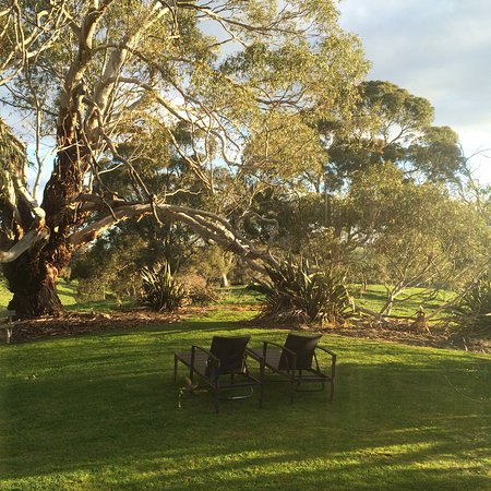Balhannah, Australië: The Nest - evening light