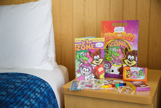Merton Hotel: Children's Welcome pack
