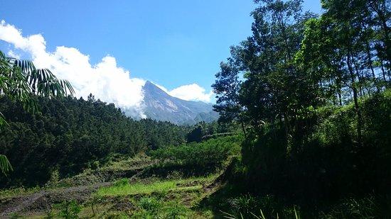 Sleman, إندونيسيا: volcan
