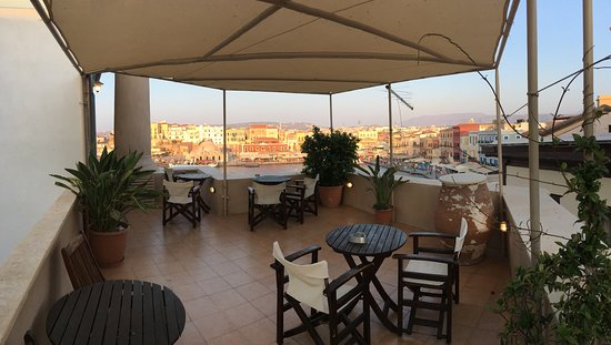 Amphora Hotel: terrazza