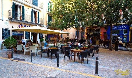 Gaudi Picture Of Gaudi Terraza Cafe Palma De Mallorca