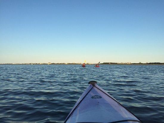 North Topsail Beach, NC: Sunset Tour View