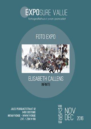 Exposure Value : van 12 nov tem 18 dec 2016: Elisabeth Callens 'Infinite'