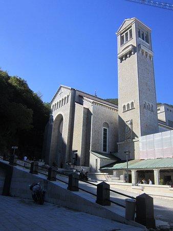 Mercogliano, İtalya: L'ingresso del Santuario di Montevergine
