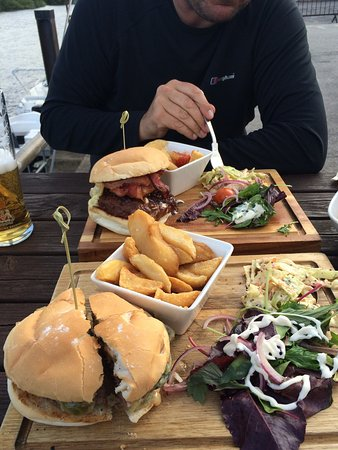 Southwell, UK: Fantastic burgers