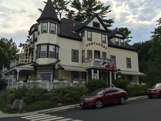 Castine, Μέιν: Beautiful Victorian inn, with fine cuisine. Located not far from the Maine Merchant Marine Acade