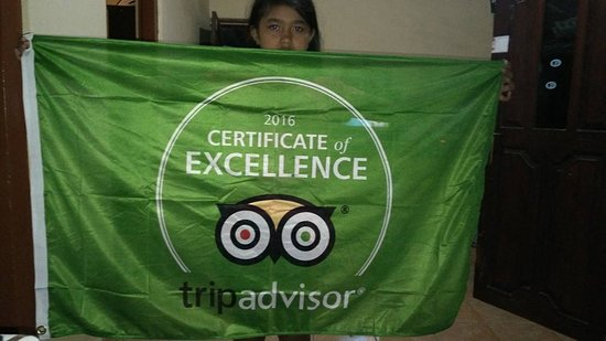 Lovina Beach, Indonesien: flag from tripadvisor