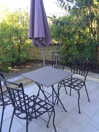 Vertheuil, Francia: Terrasse privative
