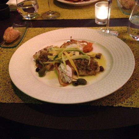 Goh Restaurant : Le plat (poisson)