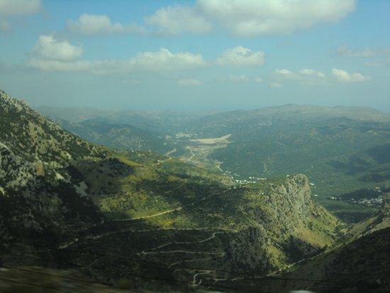 Lasithi Prefecture, Grécia: Серпантин