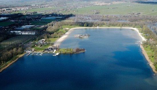 Maarsseveense plassen: Maarsseveense Lakes from above