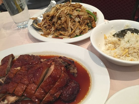 Gold Mine: Roast duck, Malaysian Noodle, Egg Fried Rice