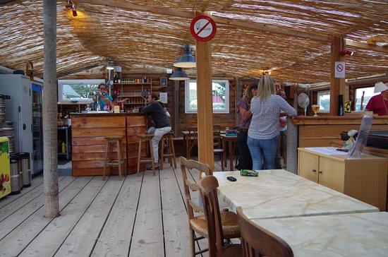 Blainville-sur-Mer, Francia: Bar La Cabane à Blainville sur mer