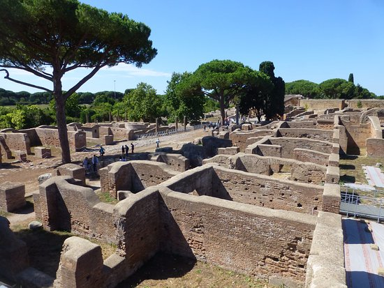 Ostia Antica, Italia: Houses in grid layout