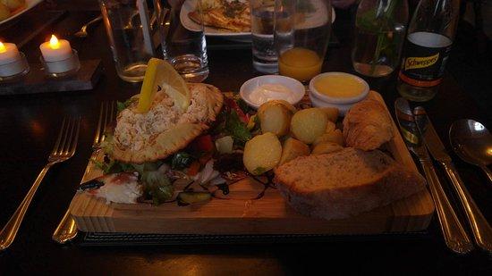 Tywyn, UK: The Crab dish - good value.