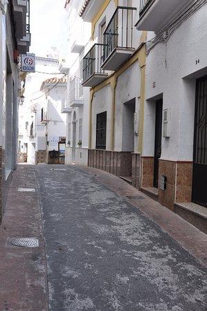 Hotel La Casa: Hier ist alles sehr eng, rasen ist nicht möglich ;-)