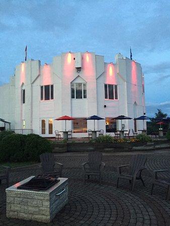 Saint-Fulgence, Canada : Vue de la terrasse