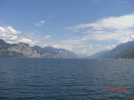 Lierna from Lake Como