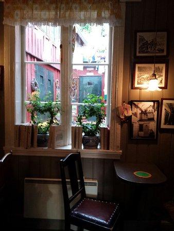 Super-gemütliches kleines Café; absolut sehenswert