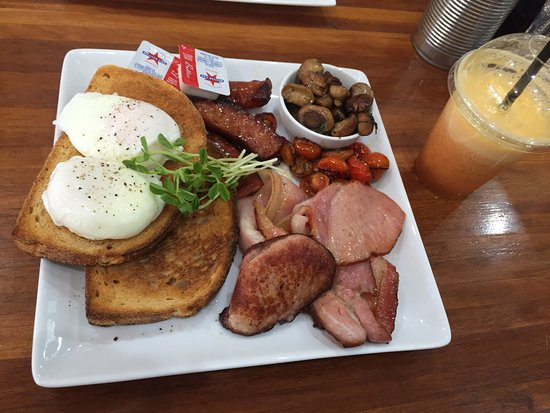 North Sydney, Australia: Big breakfast