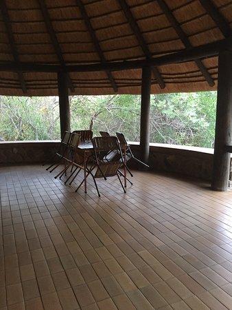 Mopani Rest Camp: La terrasse