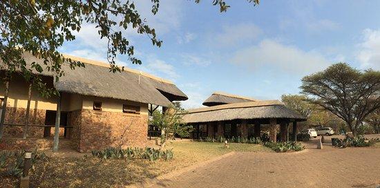 Mopani Rest Camp: La réception