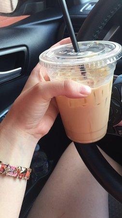 เกรตนา, เนบราสก้า: Iced beanery mocha YUM! My favorite coffee drink.