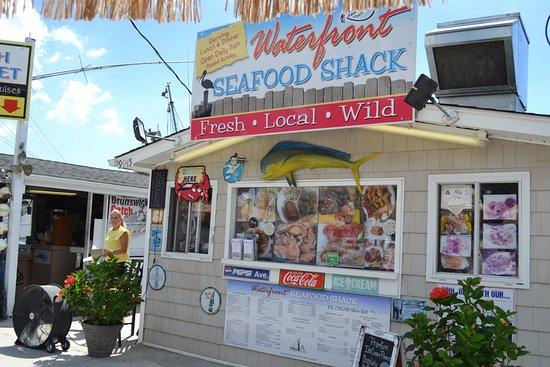 Calabash, Βόρεια Καρολίνα: Waterfront Seafood Shack
