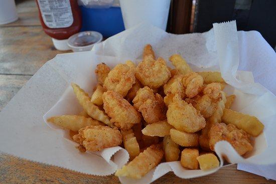 Calabash, Βόρεια Καρολίνα: Fresh shrimp!