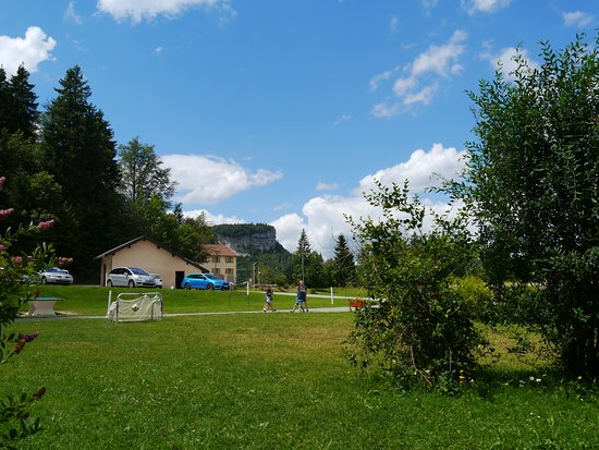 Premanon, France: L'aire de jeux