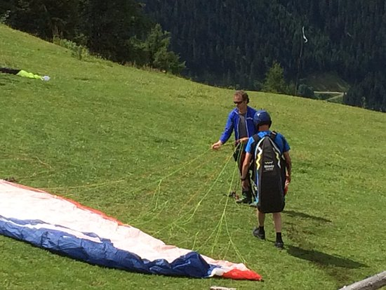 Werfenweng, ออสเตรีย: 1st solo flight