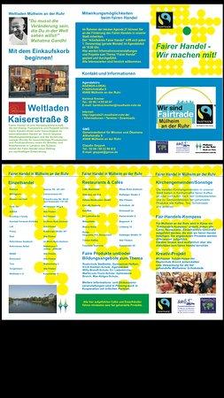 Muelheim an der Ruhr, Niemcy: Fairer Handel-wir machen mit
