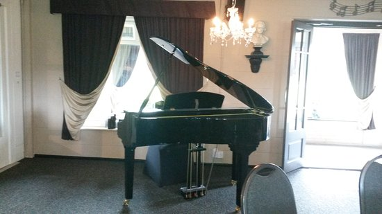 Lutterworth, UK: Our baby grand piano