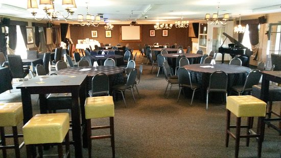 Lutterworth, UK: The function room