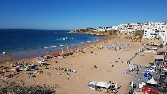 Holiday Village Algarve Balaia: Albureria old town beach. 8 Euros in a taxi. 15 euros a day for 2 sunbeds.