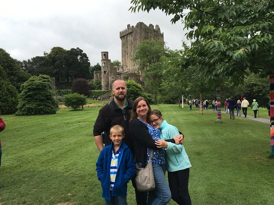 Castelo e Jardins de Blarney: Thr ruins of the castle. Such a great visit