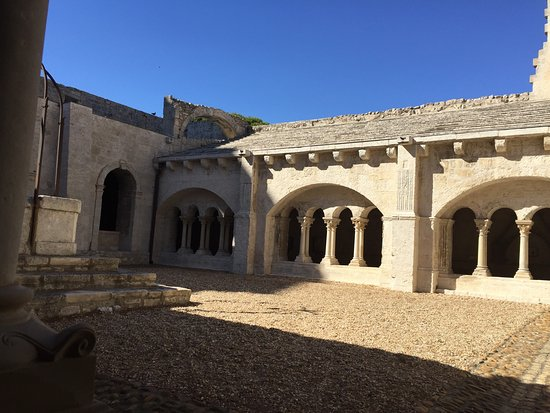 Image result for abbey of montmajour