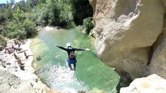La Seu d'Urgell, Spain: Último salto!