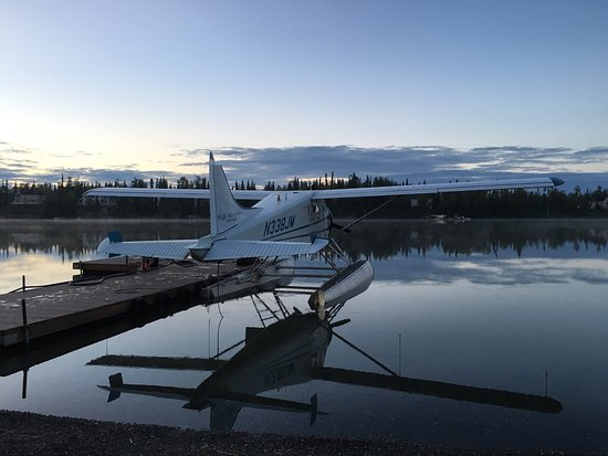 Soldotna, AK: The morning stillness. Great day for a fly-in