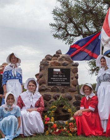 Dundee, Sydafrika: Wasbank monument where the covenant start