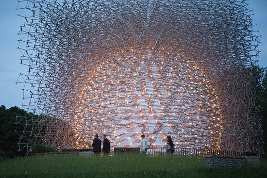 Royal Botanic Gardens, Kew: The Hive @ Kew   The Hive Light Up At