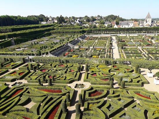 Villandry, فرنسا: jardines