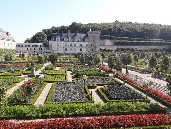 Villandry, فرنسا: jardines y castillo.