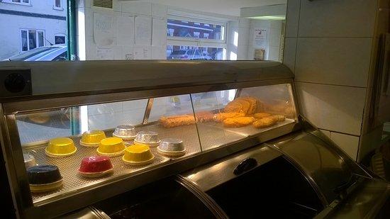 Brinklow, UK: food