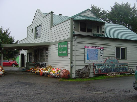 Moclips, WA: The Museum occupies the former Hewitt's Frozen Foods grocery store built in 1947.