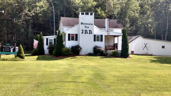 Lock Haven, Πενσυλβάνια: Rustic and beautiful Mountain Top Inn