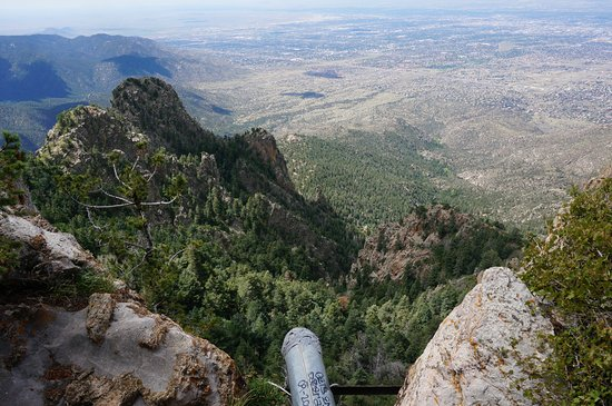 Sandia Peak Tramway: One of many shots on one of the trails at the top.