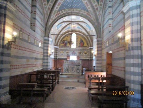 Gaiole in Chianti, Italia: the Chapel at Castello Brolio
